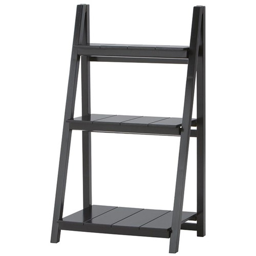 Nolan 3-Shelf Folding Bookcase climb to storage heaven with a ladder bookcase