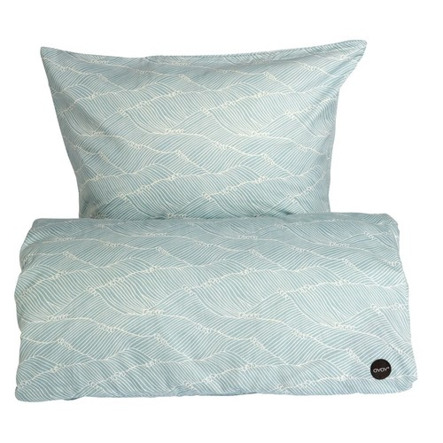 PoiPoi Bedding in Dusty Aqua design by OYOY - Baby