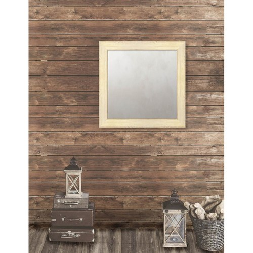 Larson-Juhl Pinnacle 29.625 in. x 29.625 in. French Antique Framed Antique Mirror