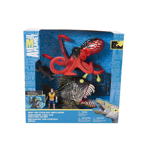 Animal Planet Angler Fish and Octopus Playset