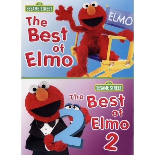 Sesame Street: The Best of Elmo, Vols. 1 and 2 [DVD]