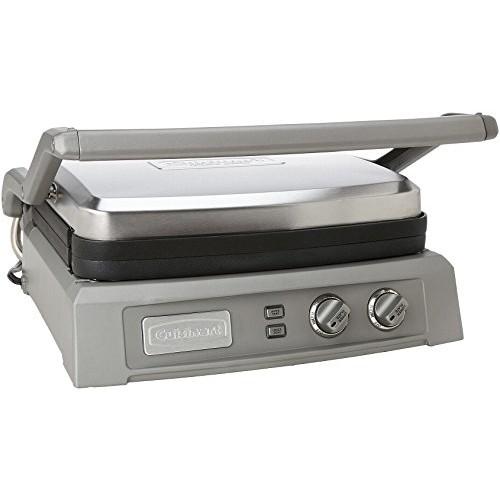 Cuisinart GR-150 Griddler Deluxe, Brushed Stainless [Griddler Deluxe]