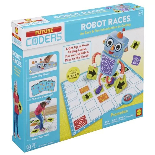 Alex Learning & Educational Toys Robot Races Coding Game