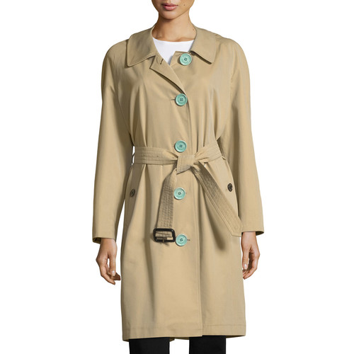 BURBERRY Brinkhill Oversized Button Trench Coat