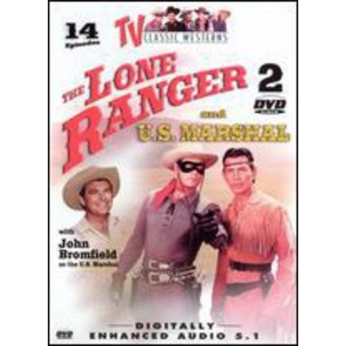 Lone Ranger and U.S. Marshal [2 Discs] (Full Frame)