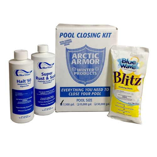 Blue Wave NY934 Medium Chlorine Free Pool Winterizing Kit [Medium]