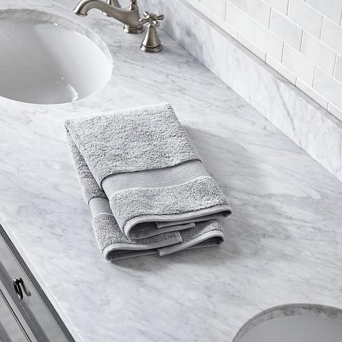 Turkish Cotton 800-Gram Grey Hand Towel