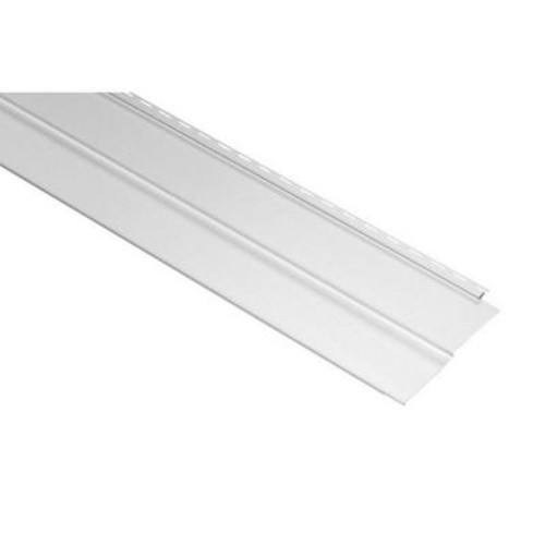 Gp 8 ft. White Solid Parkside Skirting