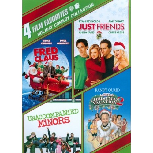 4 Film Favorites-Holiday Comedy Collection