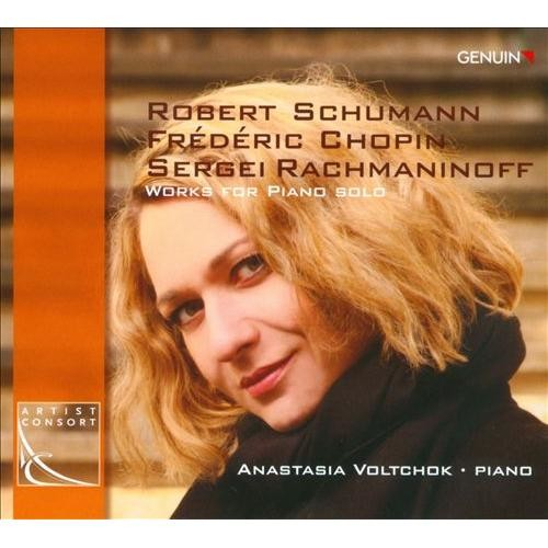 Schumann, Chopin, Rachmaninov: Works for Piano Solo [CD]