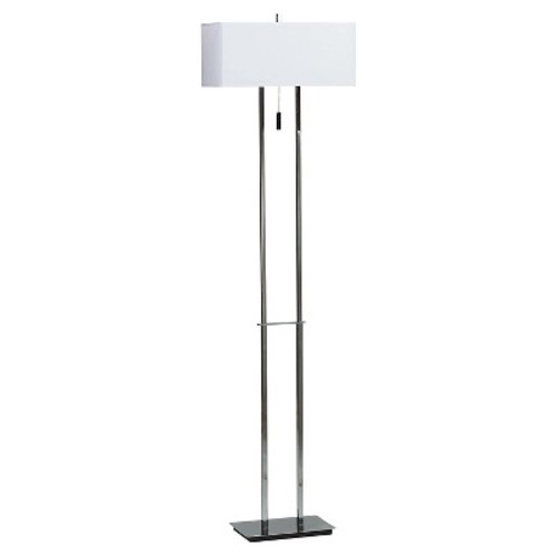 Kenroy Home Floor Lamp - Chrome