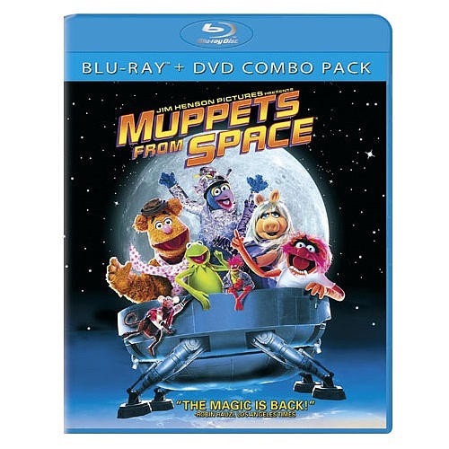 Muppets From Space Blu-Ray Combo Pack (Blu-Ray/DVD)
