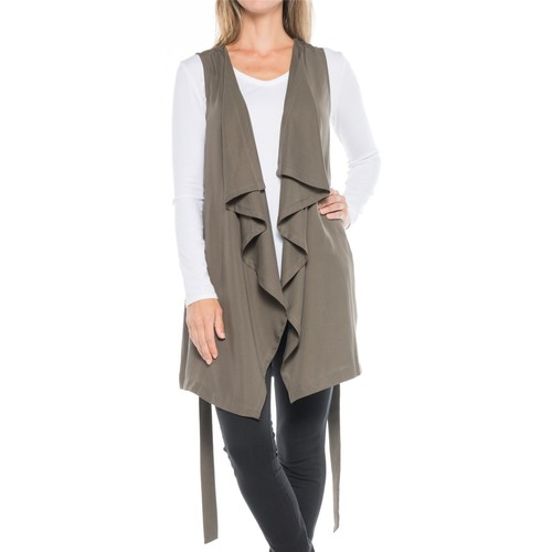 B Collection by Bobeau Elsie Waterfall Tunic Vest (For Women)