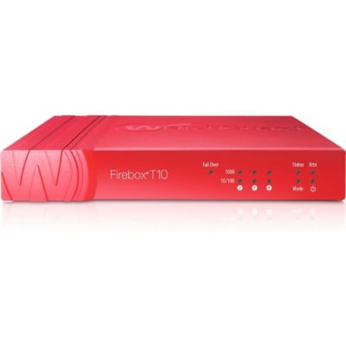 WatchGuard Firebox T10 Network Security/Firewall Appliance With 1 Year UTM Suite