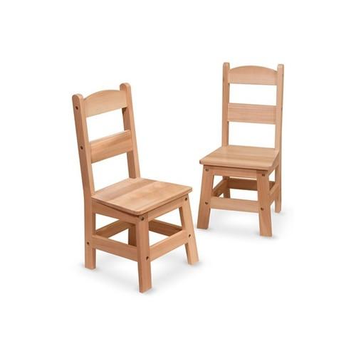 MELISSA & DOUG Wooden Chairs