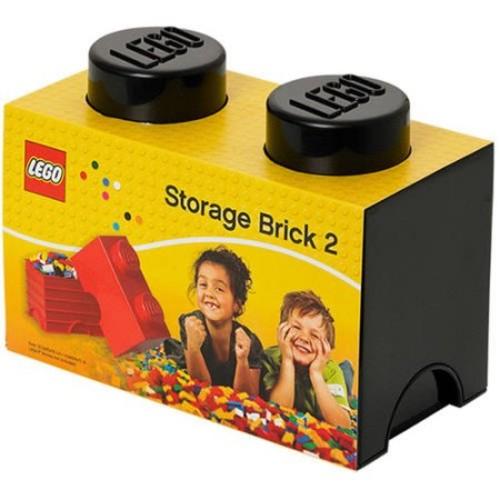 LEGO Storage Brick 2, Black