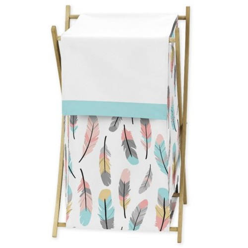 Feather Laundry Hamper