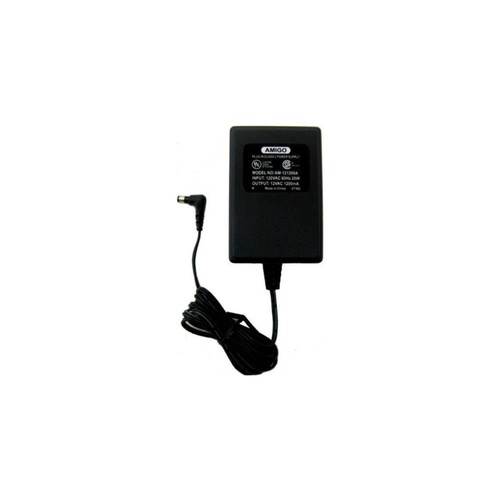 amigo am121200a ac adapter 12vac 1200ma plugin class 2 power s