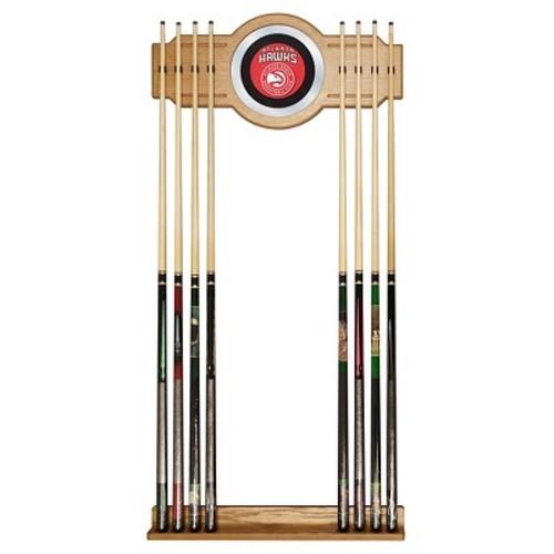 Atlanta Hawks Billiard Cue Rack with Mirror