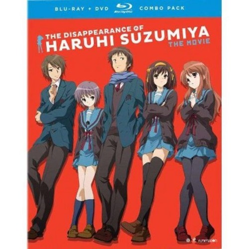 The Disappearance Of Haruhi Suzumiya: The Movie [Blu-Ray] [DVD]