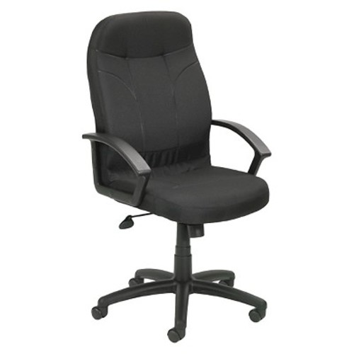Executive Fabric Chair Black - Boss Office Products