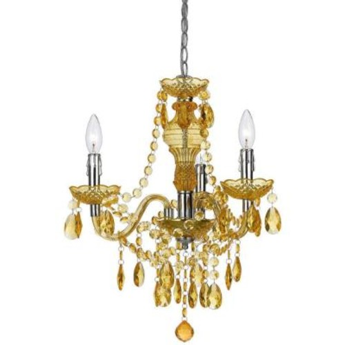 AF Lighting Fulton 3-Light Gold Mini Chandelier