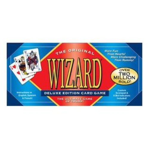 USA Games Systems Wizard Card Game - Deluxe Edition