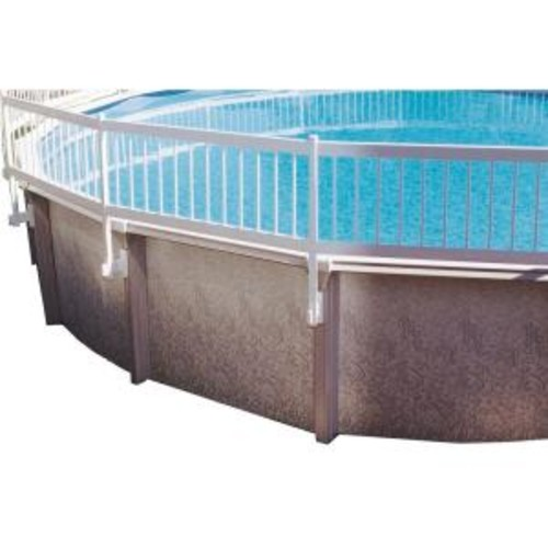GLI Pool Products Above Ground Pool Fence Add-On Kit B (3 Sections)