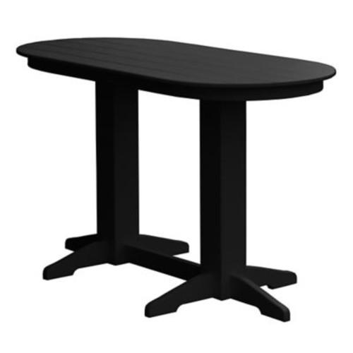 Radionic Hi Tech Rochester Bar Table; Black