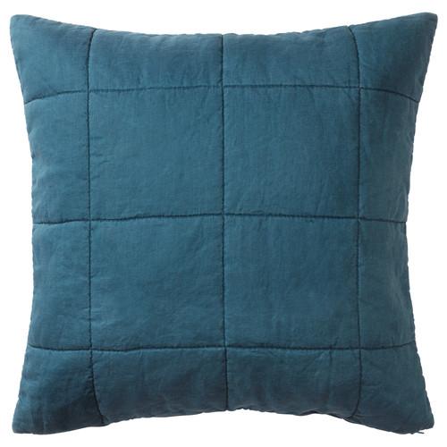 GULVED Cushion cover, dark blue