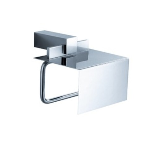 Fresca Alzato Chrome Toilet Paper Holder