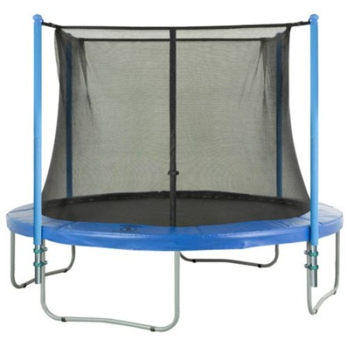 4 Pole Trampoline Enclosure Set to fit 14 FT. Trampoline Frames with set of 2 or 4 W-Shaped Legs (Trampoline Not Included): Toys & Games