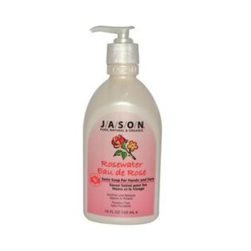 Jason Natural Products Jason Pure Natural Hand Soap Invigorating Rosewater - 16 Oz
