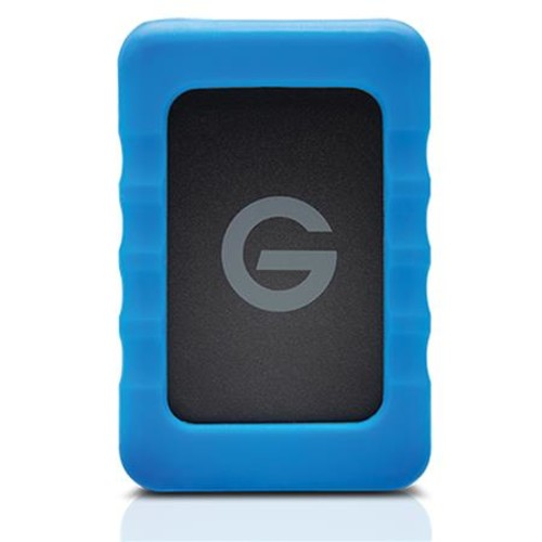 G-Technology G-Drive ev RaW External Hard Drive w/Rugged Bumper, USB 3.0 - 1TB 0G04101