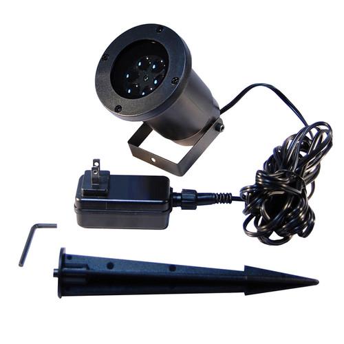 LED Projector Light- White Confetti Dots