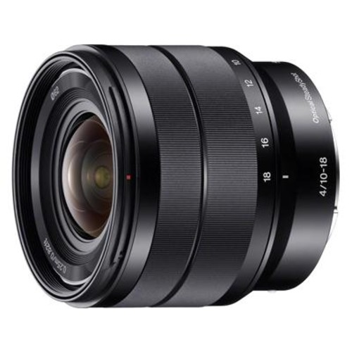 Sony SEL1018 10-18mm f/4 Wide-angle zoom lens for APS-C sensor Sony E-mount mirrorless cameras