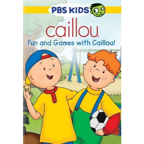 Caillou: Fun And Games With Caillou!