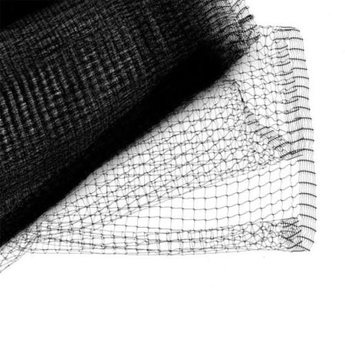 Bird B Gone Garden Bird Netting 3/4 inch Mesh - 14 ft x 100 ft - Black