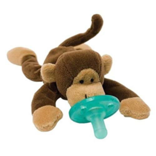 WubbaNub Mango Monkey Infant Pacifier