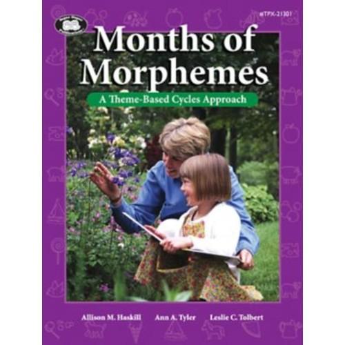 Super Duper Months Of Morphemes Book, Grades PreK-1