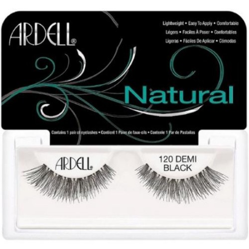Ardell Fashion Lashes Natural Strip Lash, Demi Black [120] 1 ea (Pack of 6)