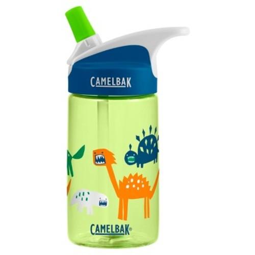 CamelBak Eddy Kids' Zany Dinos 12oz Water Bottle - Green/Blue
