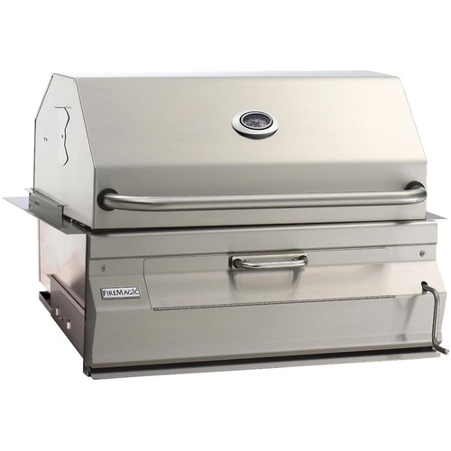 Charcoal Legacy Built In Grill (Grill w 30 in. Hood)