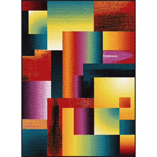 Tayse Rugs Symphony Mondria Abstract Area Rug - 7'10'' x 10'3''