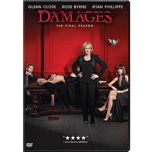 Damages: The Complete Fifth (Final) Season: Ryan Phillippe, Glenn Close, Rose Byrne, Lori Jo Nemhauser: Movies & TV