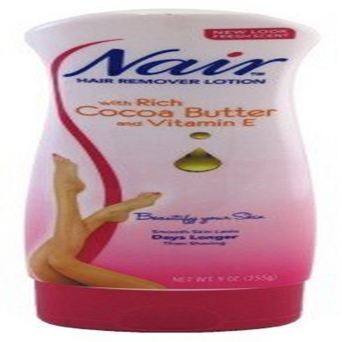 Nair Hair Remover Lotion Cocoa Butter & Vitamin E 9oz (6 Pack)