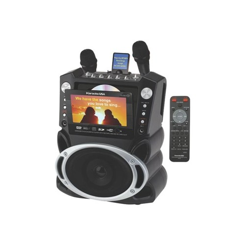 Karaoke USA Karaoke System with 7-Inch TFT Color Screen and Record Function (GF829): Musical Instruments