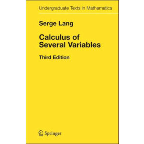 Calculus of Several Variables / Edition 3