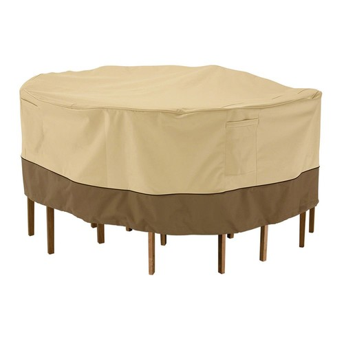 Classic Accessories Veranda Bistro Patio Table and Chair Set Cover