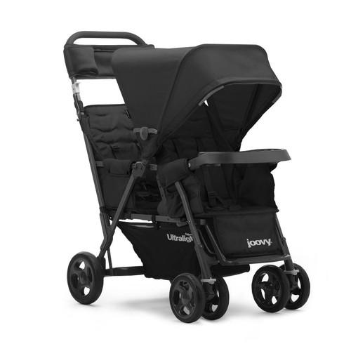 Joovy Caboose Too Ultralight Graphite Stand-On Tandem Stroller - Black